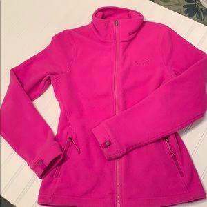 North Face Fleece Bright Pink SZ XS Winter Comfort